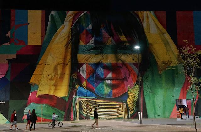 murais do Eduardo Kobra