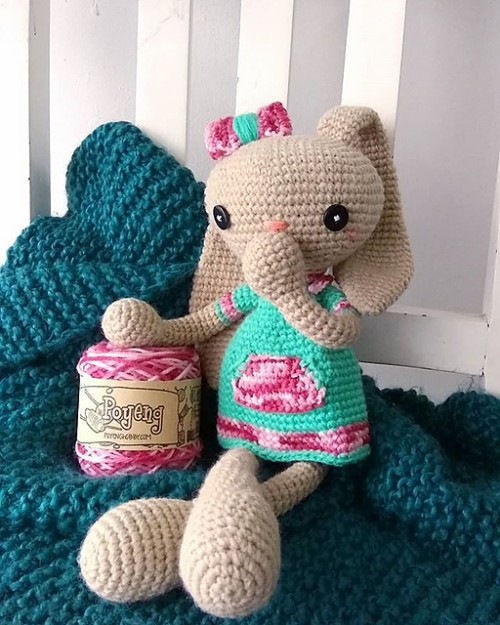 Long Eared Bunny - Free Pattern