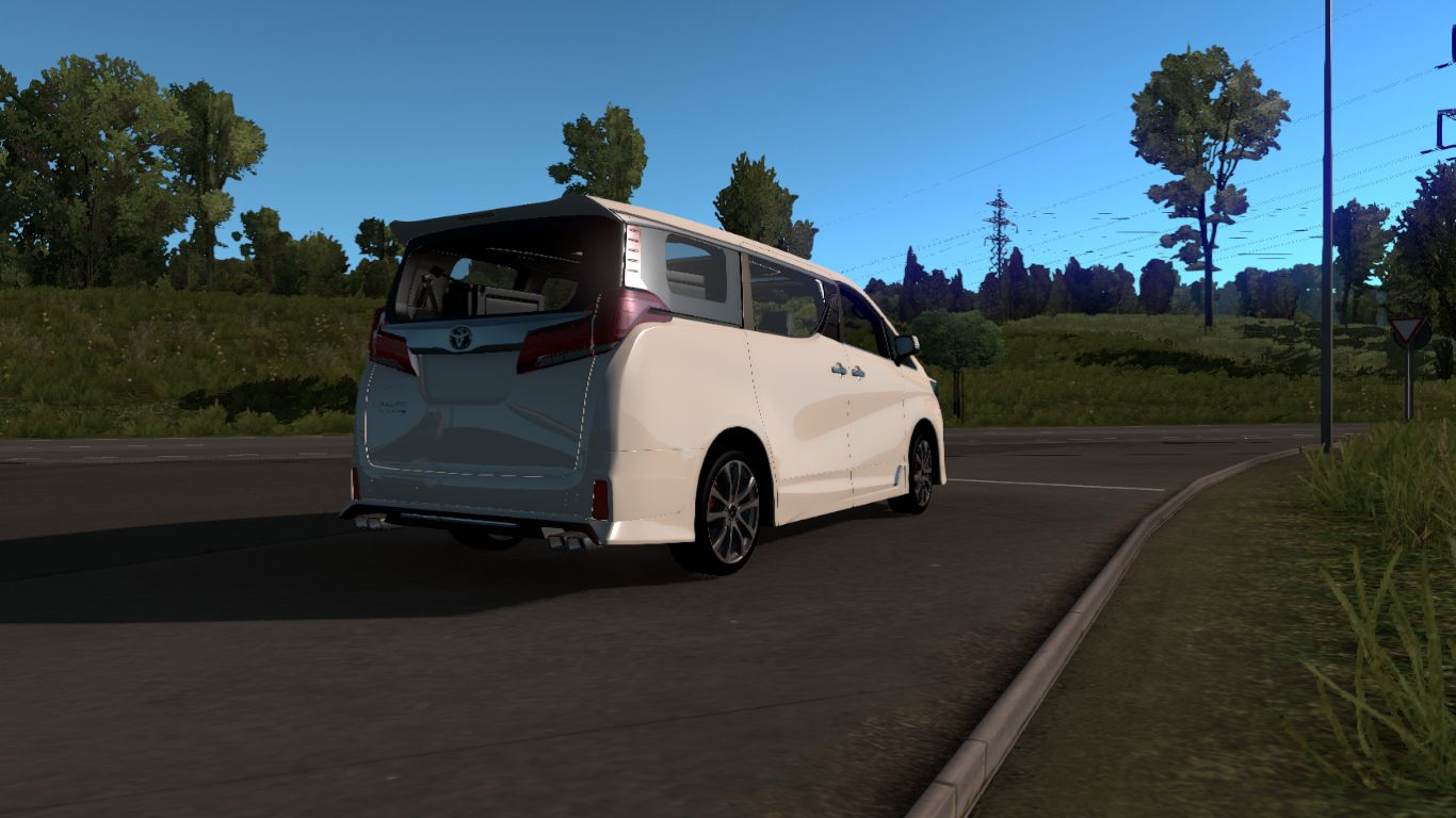 Mod Mobil Toyota Alphard Ets2 All Mods Indonesia