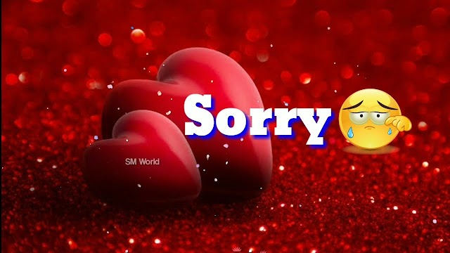 Letest  Sorry video status download
