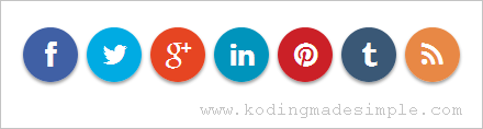 round-social-media-icons-html-css