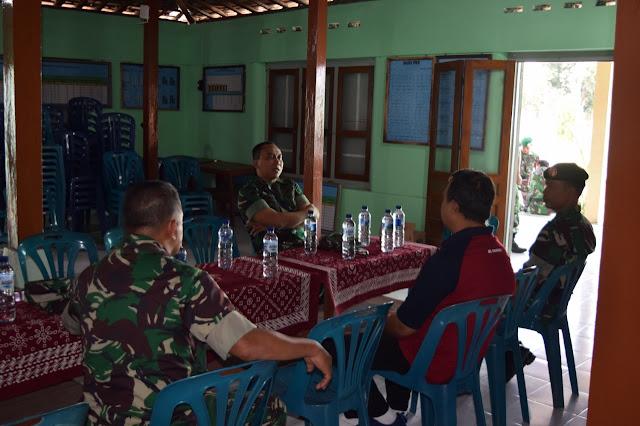 Kantor Desa Kupang Di Datangi Dandim Klaten Terkait Karya Bhakti Mandiri
