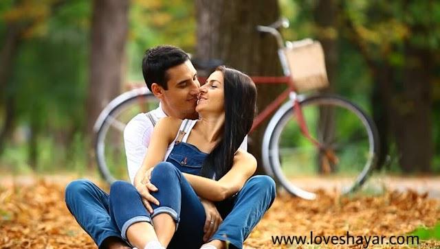 Romantic shayari for girlfriend in hindi