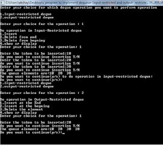 Dynamic Queue implementation using arrays
