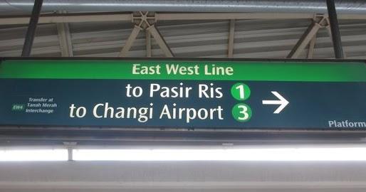 Das Singapur Der East West Line