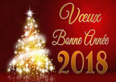 Vœux et bonheur pour l'an 2018