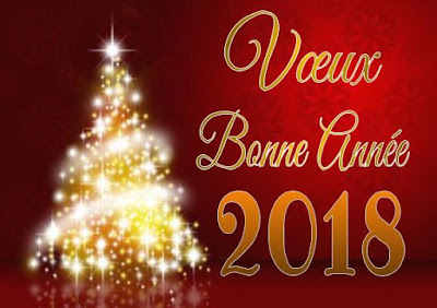 E-carte virtuelle Meilleurs vœux 2018
