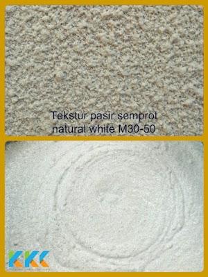 Cat Tekstur Pasir Natural M30-50 Kemasan 5Kg
