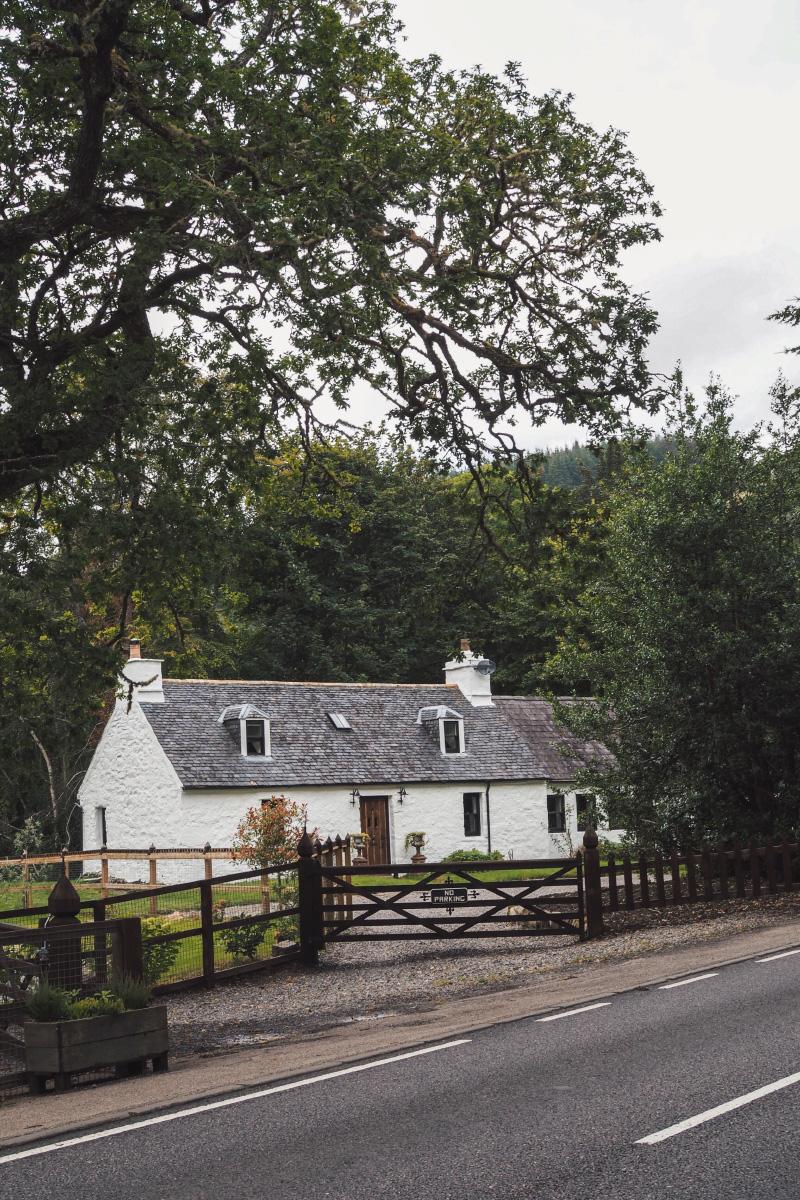 Le village d'Invermoriston en Ecosse