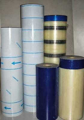Diferentes foils plásticos