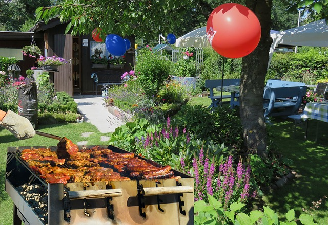Organiser une garden party, le matériel, les recettes