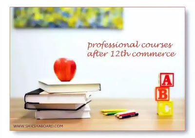professional courses after 12th commerce in India