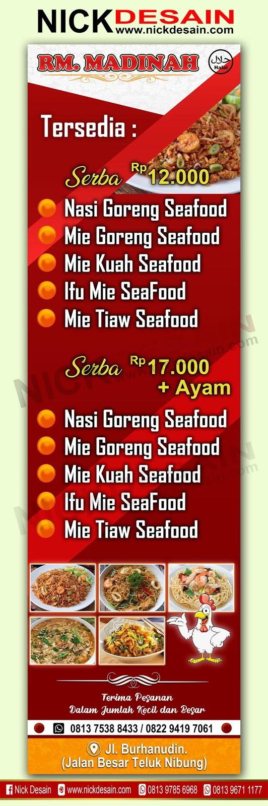 Desain Spanduk Makanan : desain, spanduk, makanan, Contoh, Desain, Banner, Spanduk, Restoran, Percetakan, Murah, Tanjungbalai, Online,, Logo,, Banner,