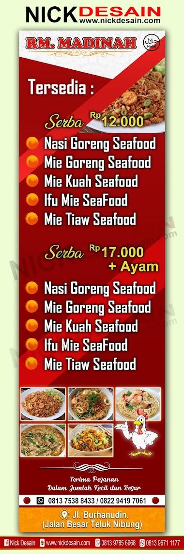 Contoh Banner Mie Ayam Pelangi - gambar spanduk