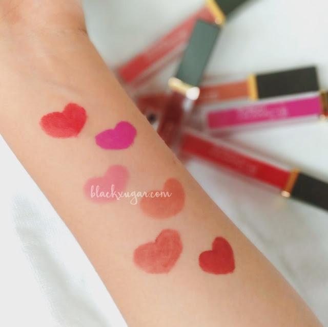 purbasari lip cream warna terbaru swatch blackxugar