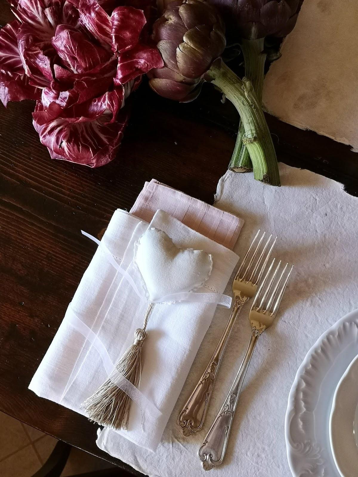 idee per la tavola di san valentino