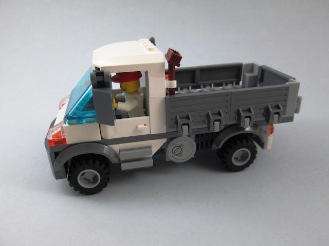 MOD Set LEGO City 60073 Service Truck - veículo para uso geral a patir do set LEGO