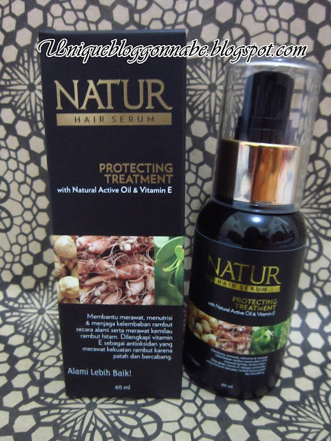 Natur Hair Serum Protecting Treatment Review 2