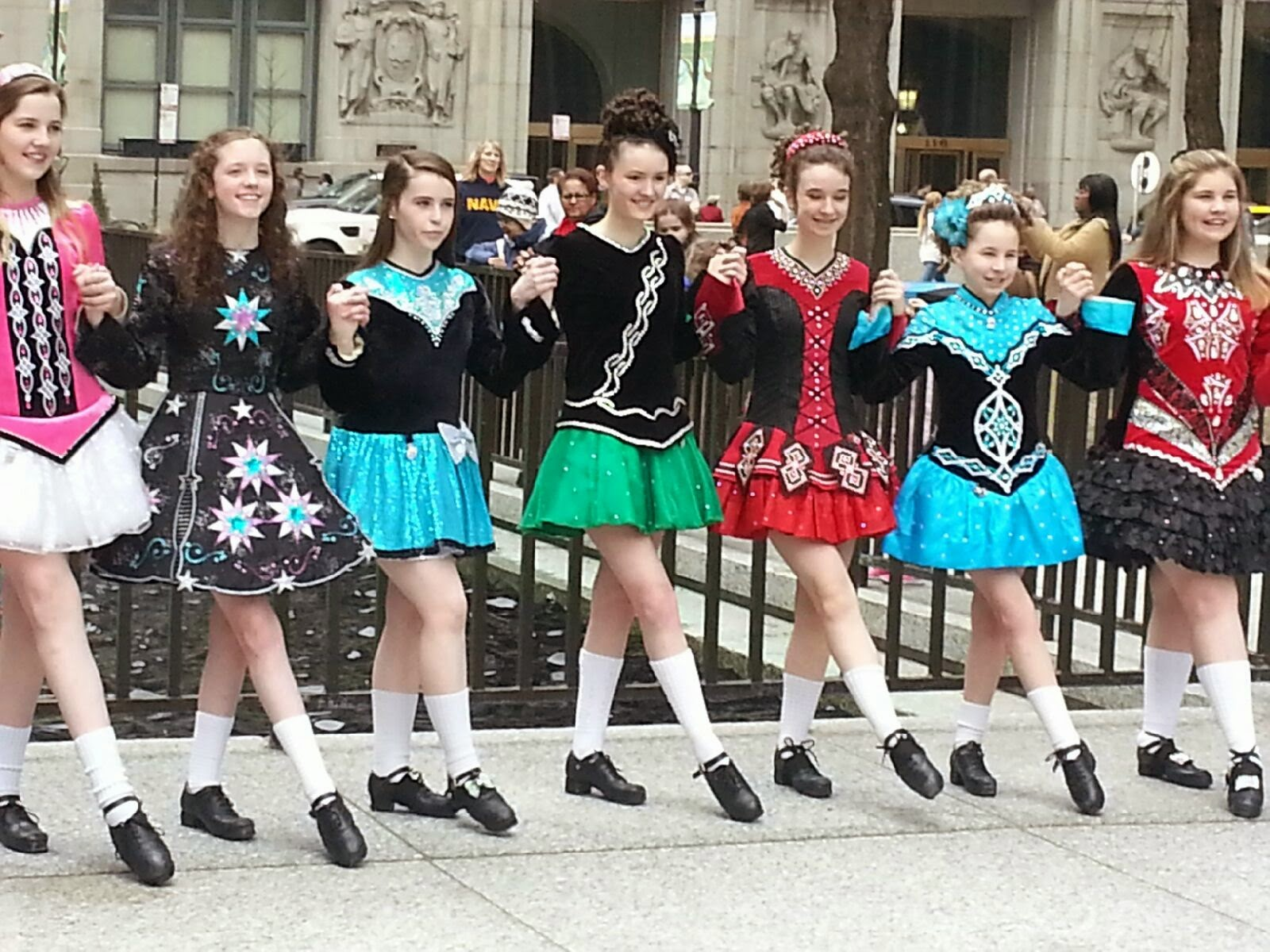Chicago Irish Dancers St. Patrick's Day