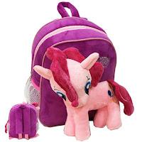 MLP Fake Pinkie Pie Plush Backpack