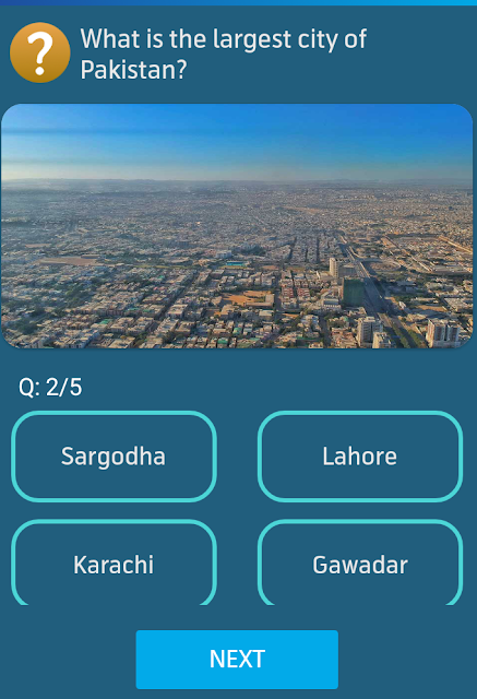 What is the largest city of Pakistan?