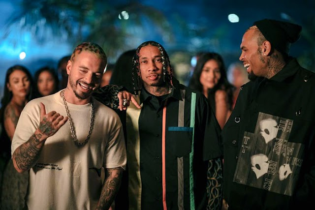 "New Video: Tyga Feat. J Balvin & Chris Brown ""Haute"""