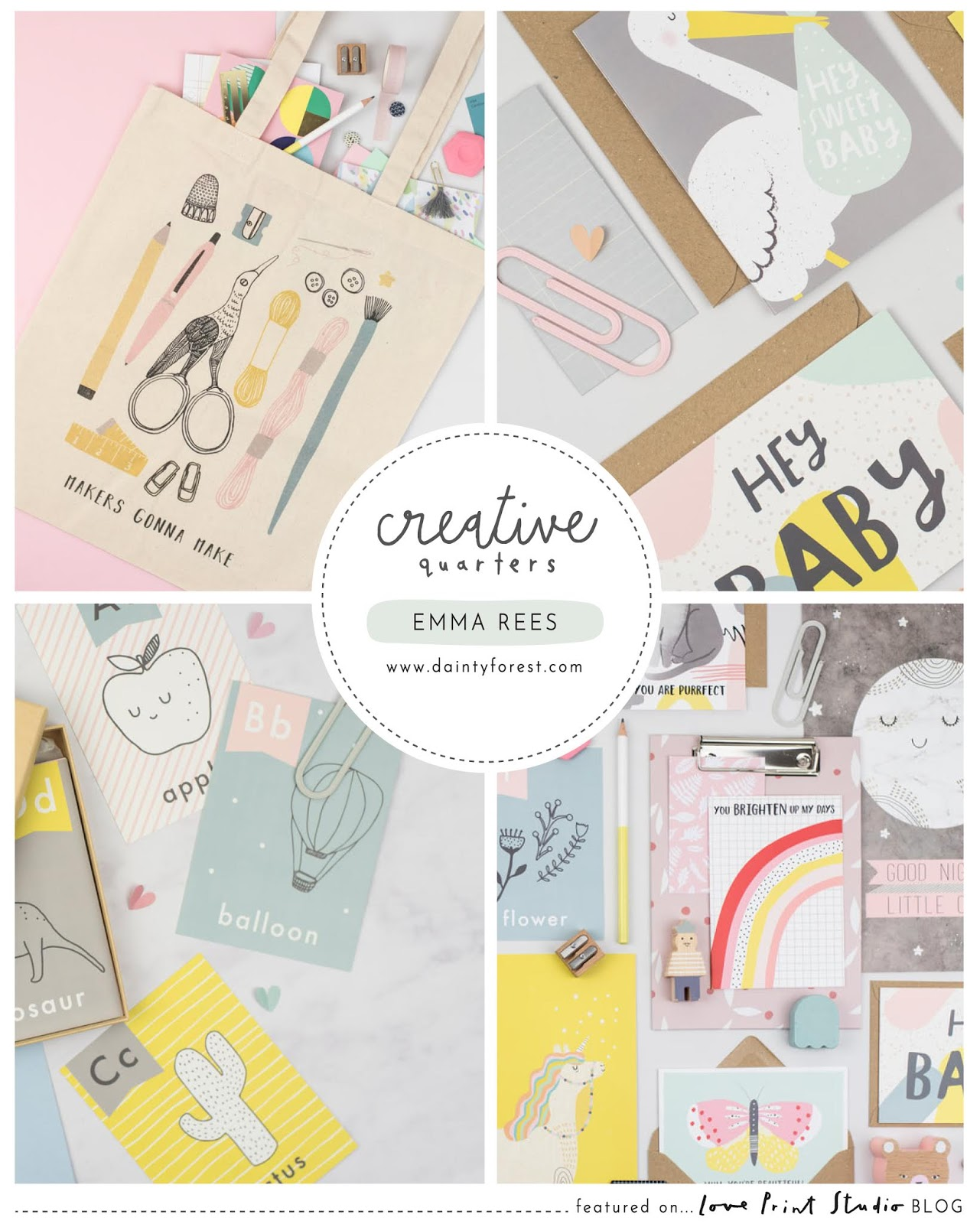 Creative Quarters...Emma Rees | Dainty Forest