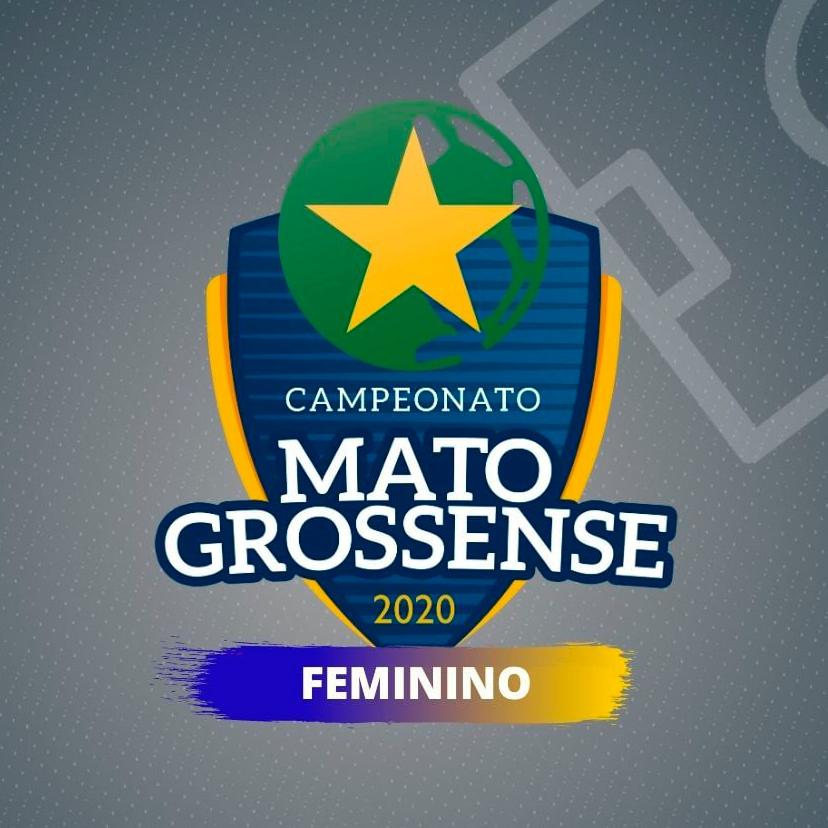 Logomarca do campeonato mato-grossense de futebol feminino