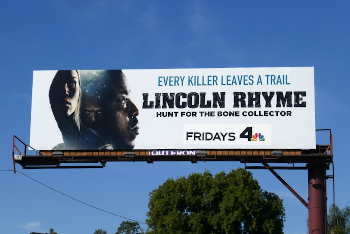 Lincoln Rhyme series premiere billboard