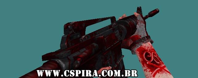Skin  M4A1 (Sangue) - CSPira!