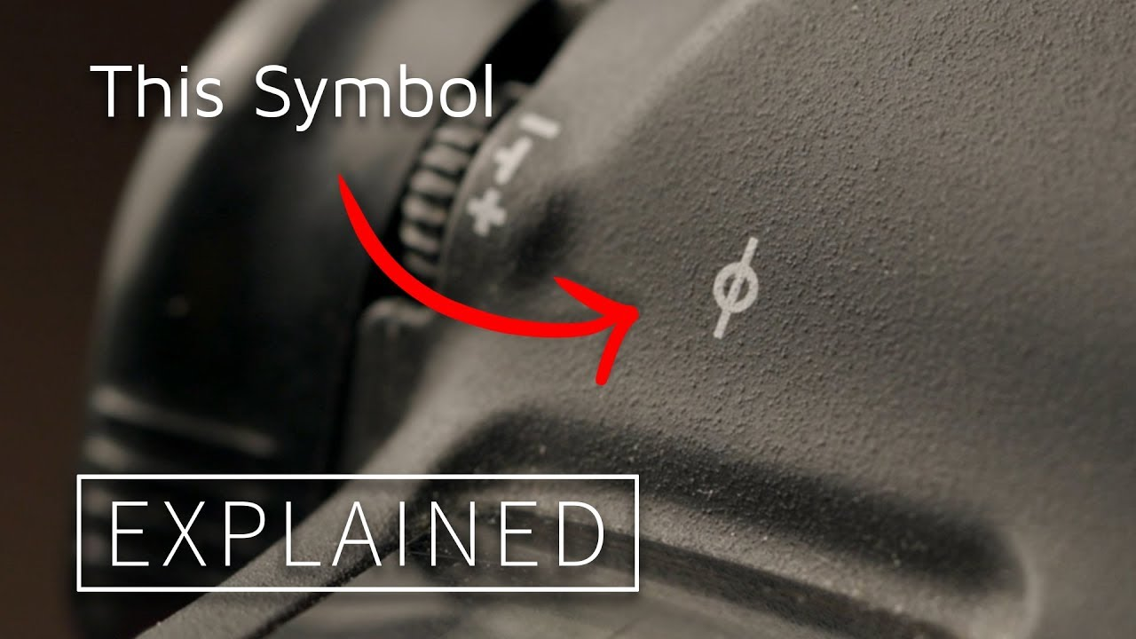 This Symbol On Your Camera Explained! What Are Film Plane Indicators