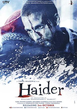 Haider 2014 Full Hindi Movie Download BRRip 720p