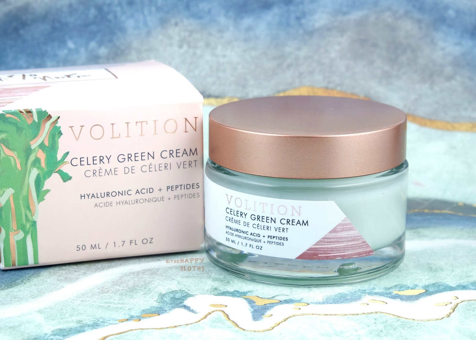Volition Beauty | Celery Green Cream with Hyaluronic Acid + Peptides: Review and Swatches