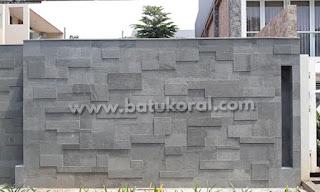 batu alam untuk pagar