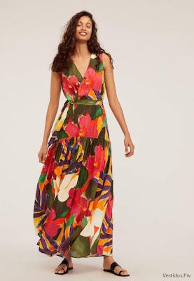 Vestidos Largos Floreados