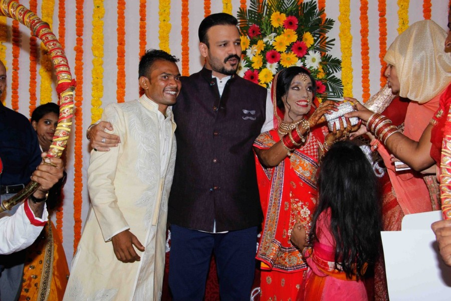Vivek Oberoi Attend Wedding Ceremony of Lalita Bansi