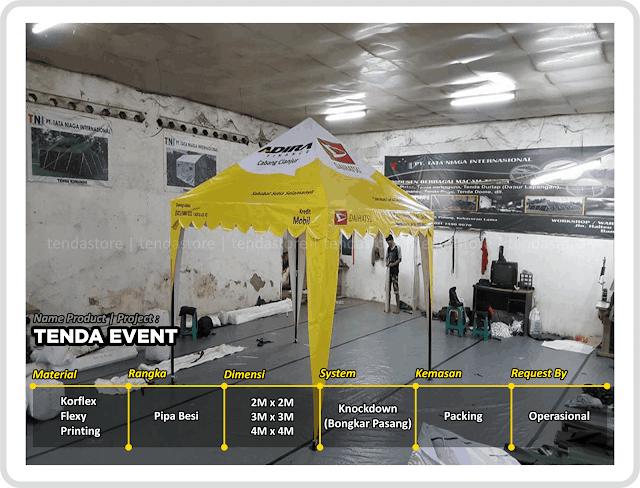 Tenda Event - Tenda - Event Promosi