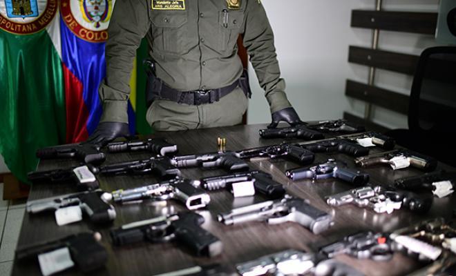 Ofensiva contra el tráfico local de armas de fuego y traumáticas