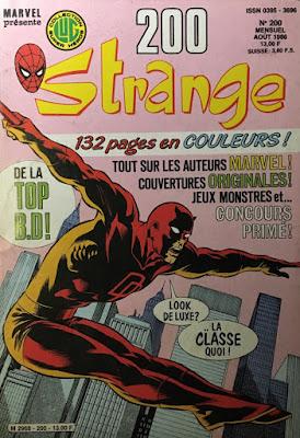 Strange selon Alexis Bacci
