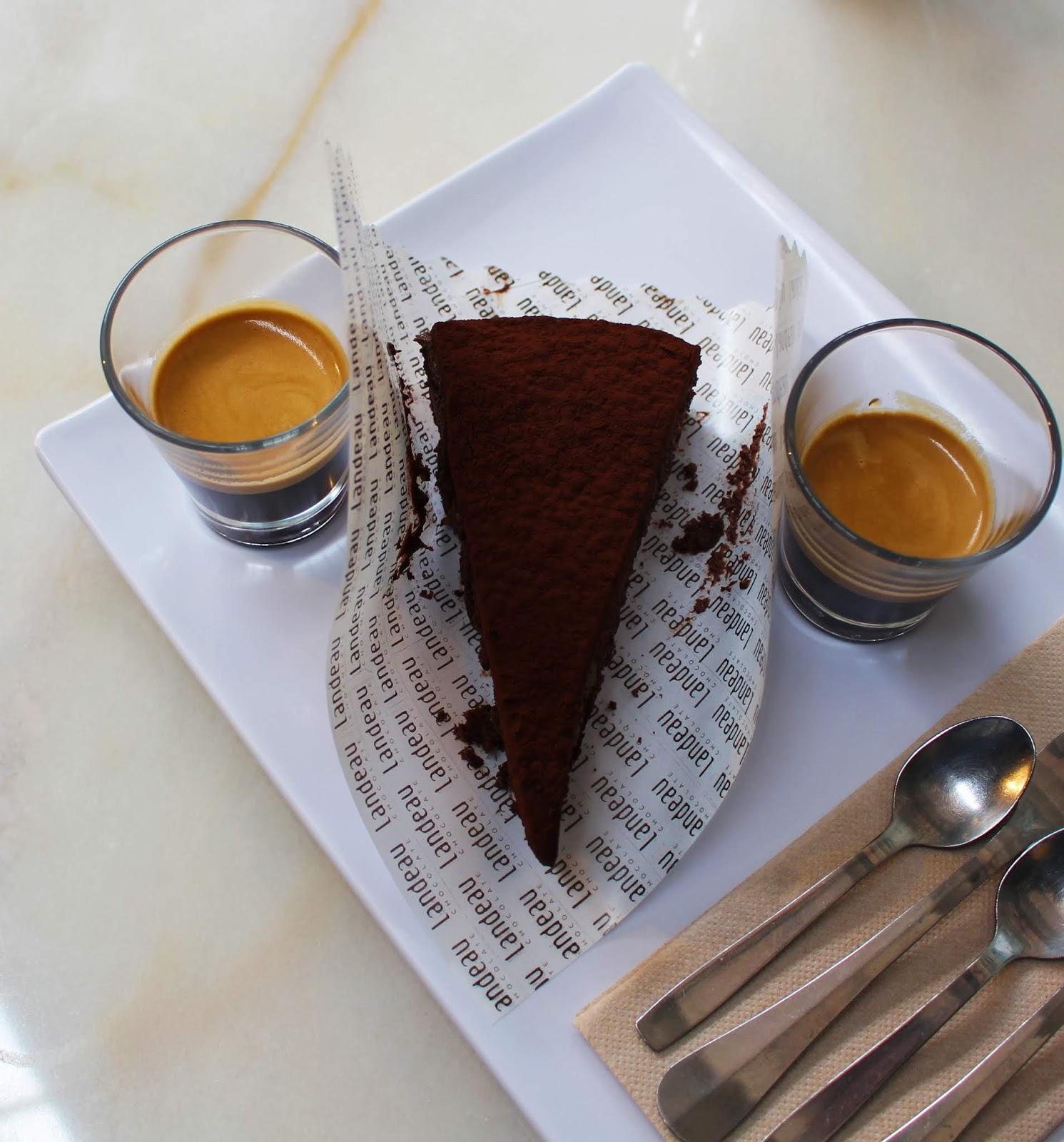 O melhor bolo de chocolate: Landeau Chocolate