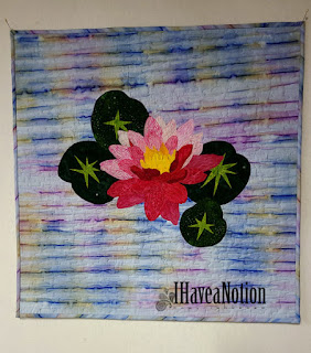 The Water Lily quilt
