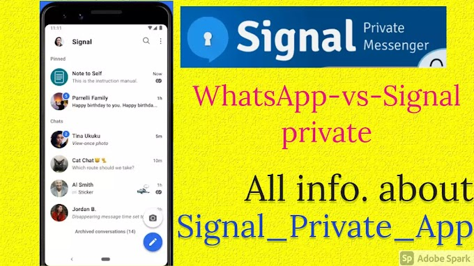 Why Signal app over WhatsApp and Why signal app is trend
