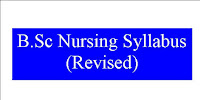 First Year B.sc Nursing syllabus