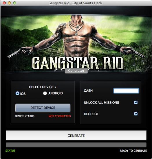 Best Hacks 2016: Gangstar Rio:City of Saints Hack Free