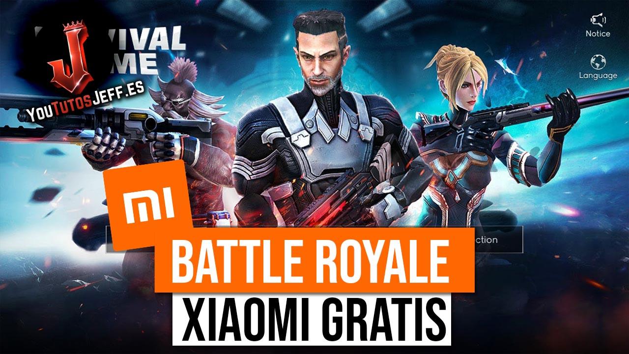 Nuevo Battle Royale de Xiaomi - Descargar Survival Game Gratis
