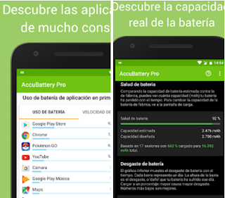 Aplicaciones para diagnosticar la batería de tu Android