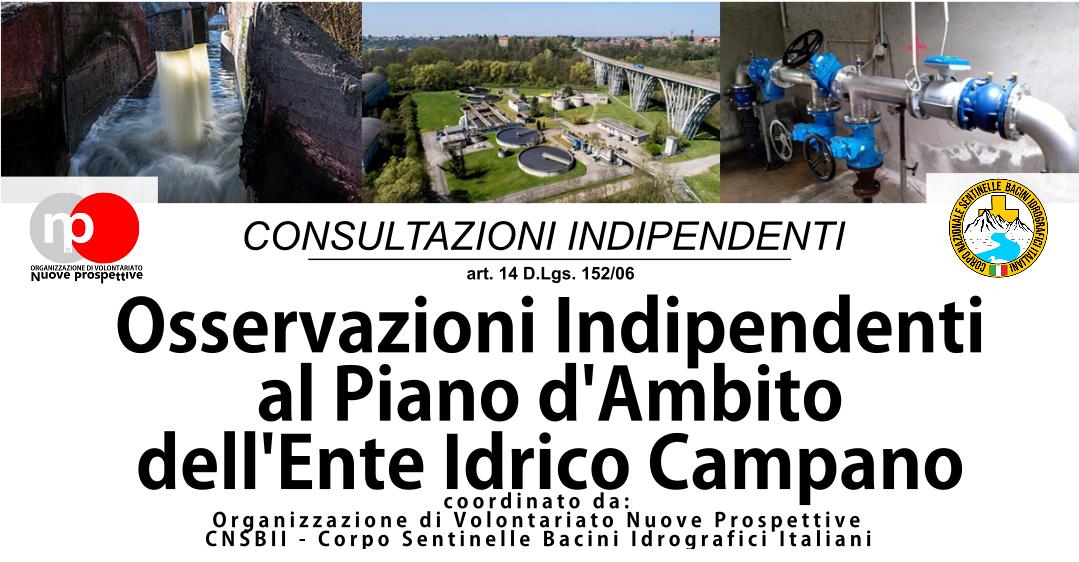Piano d'Ambito EIC - Avvio consultazioni indipendenti   Partecipa