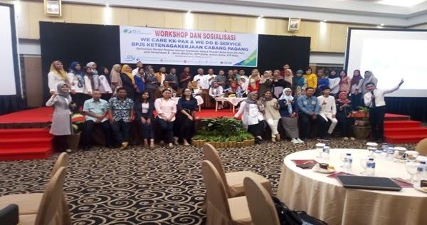 Peduli Keselamatan Pekerja Bpjs Ketenagakerjaan Cabang Padang Adakan Sosialisasi Dengan 50 Perusahan Peserta Mediaportalanda
