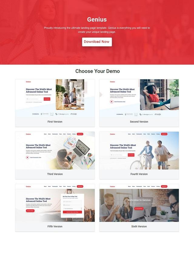 Premium Landing Page Template