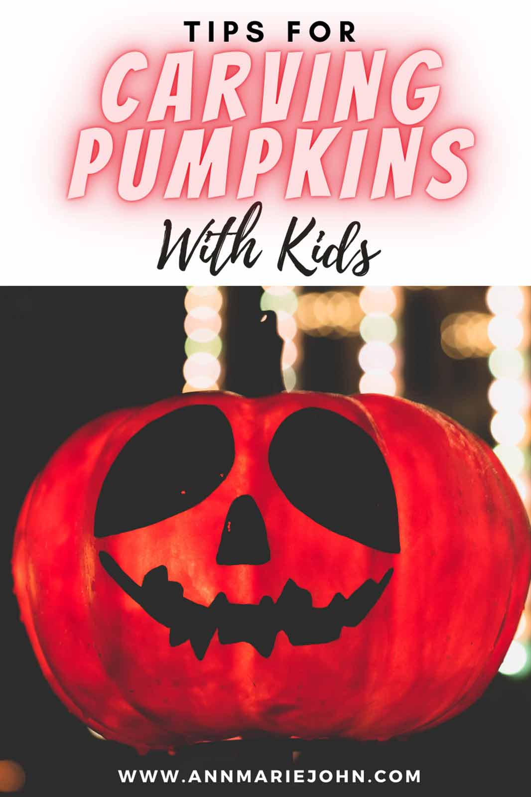 Tips for Carving Pumpkins with Kids